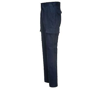 Portwest Men's Stretch Slim Combat Work Trousers