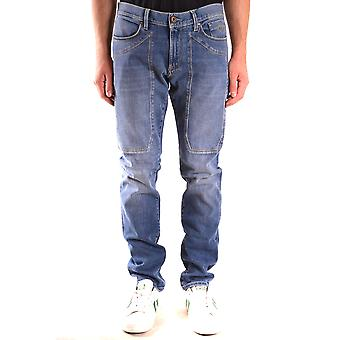 Jeckerson Ezbc069049 Men's Blue Cotton Jeans