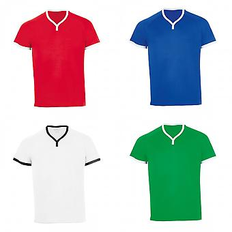 SOLS Mens Atletico Kurzarm V-Neck T-Shirt