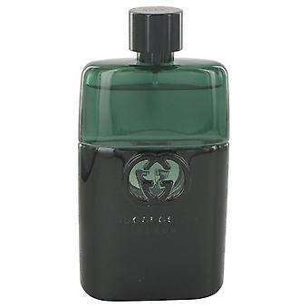 Gucci Guilty Black Eau De Toilette Spray (Tester) door Gucci 3 oz Eau De Toilette Spray