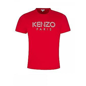 Kenzo Classic Paris Rotes T-shirt