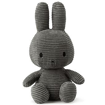 Miffy Large Bunny Corduroy Soft Toy, Gris