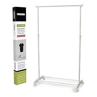 Hat stand Confortime White (80 X 43 x 165 cm)