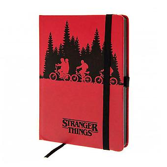 Stranger Things, Notebook-Upside Down