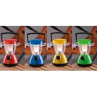 Led Campinglamp in vier verschillende kleuren