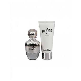 Salvatore Ferragamo Fragrance Ferragamo Amo Gift Set