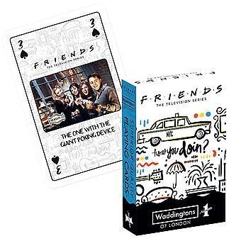 חברים סדרת הטלוויזיה העליון משחק קלפים