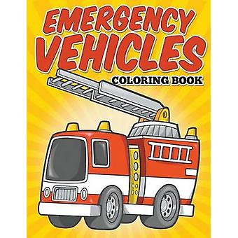 Emergency Vehicles Coloring Book Kids Coloring Books by Avon Coloring Books