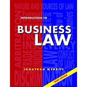 Introduction to Business Law 3rd Ed Third Edition by Merritt & J. G.