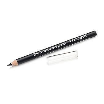 Belleza UK Line & Define Eye Pencil No. 1-Negro