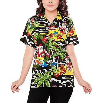 Club cubana women's regular fit classic short sleeve casual blouse shirt ccwx36