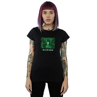 The Matrix Women's Digital Cube T-Shirt