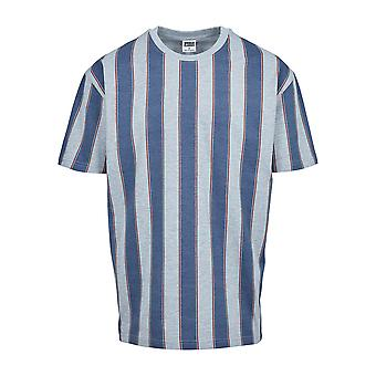 Urban Classics Men's T-Shirt Printed Oversized Bold Stripe