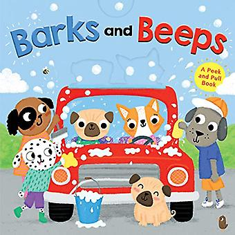 Barks and Beeps (Novelty Board Book) door Houghton Mifflin Harcourt - 9
