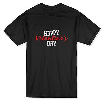 幸せなバレンタインデーの引用メンズ t シャツ