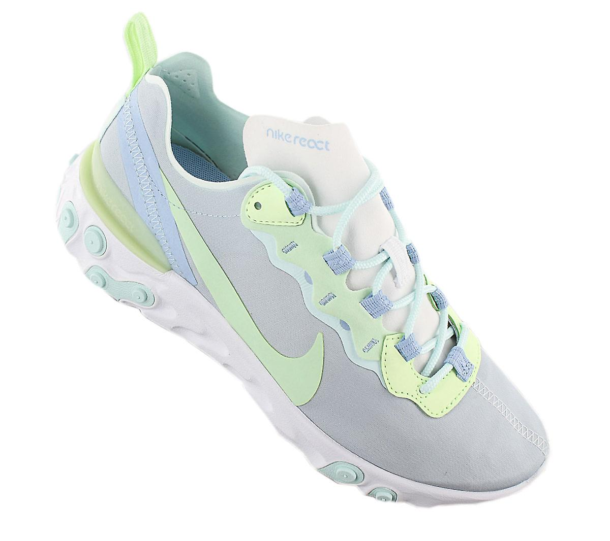 Nike React Element 55 - Chaussures Pour femmes Grey BQ2728-100 Sneakers Chaussures de sport