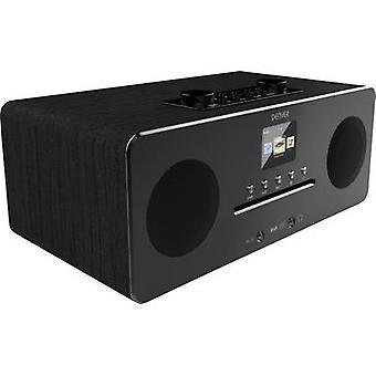 Denver MIR-260 Internet desk rádió DAB +, FM AUX, Bluetooth, CD, NFC, Internet rádió Fekete