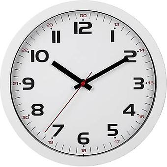 TFA Dostmann 60.3050.02 Quartz Wall clock 305 mm x 305 mm x 38 mm White