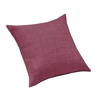 Changing Sofas Plum Linen Effect Upholstery Fabric Extra Large 24