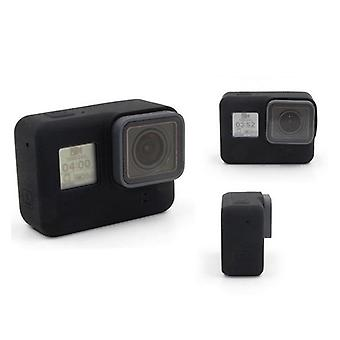 for GoPro Hero 5 & 6 Silicon Soft Case Protective Rubber Dirtproof Skin Cover