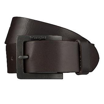 WRANGLER пояса кожаные ремни мужские ремни Браун 4074