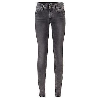 Replay Skinny Jeans LUZ 11.5 OZ BLACK POWER STRETC Pants Tube Slim LUZ 11.5 OZ B