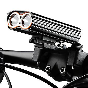 150° Large floodlight bicycle headlight 4 modes with usb rechargeable
