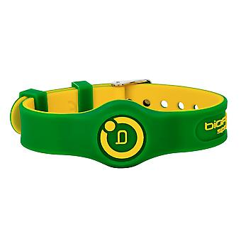 Sport Flex Magnetic Wristband Green/Yellow