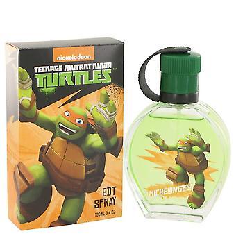 Teenage Mutant Ninja Turtles Michelangelo Eau De Toilette Spray By Marmol & Son 3.4 oz Eau De Toilette Spray