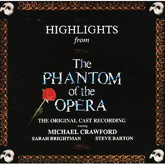 Cast Recording - Highlights From the Phantom of the Opera [CD] USA import