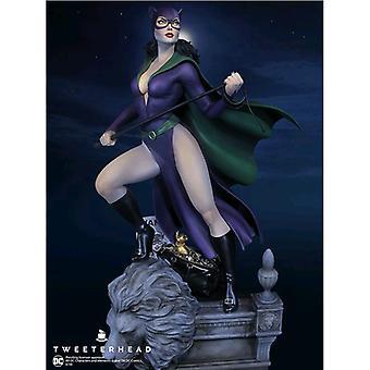 Batman Catwoman Super Powers Maquette