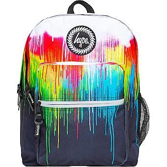 Hype Utility Multi Drips Backpack Bag White 57