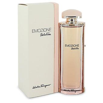 Emozione Dolce Fiore Eau De Toilette Spray By Salvatore Ferragamo 3.1 oz Eau De Toilette Spray