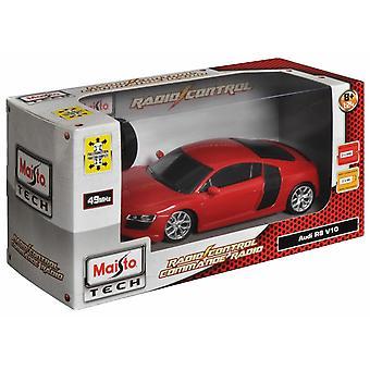Maisto 1:24 RC Audi R8 V10 Red