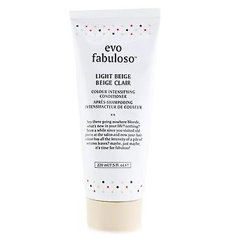 Evo Fabuloso Kleur intensiverende conditioner - # Licht Beige 220ml/7.5oz