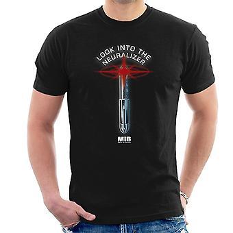 Men In Black Look Into The Neuralizer Men's T-Shirt
