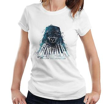 Godzilla Blue Flame Women's T-Shirt