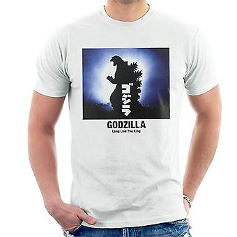 Godzilla Long Live The King Men's T-Shirt