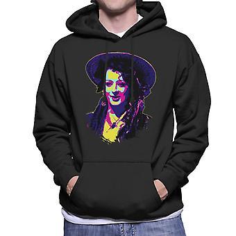 TV Times Boy George Of Culture Club Pop Art stilisierte Männer's Kapuzen Sweatshirt