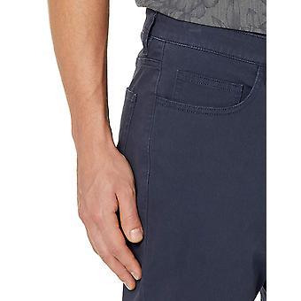 Goodthreads الرجال & apos;ق على التوالي صالح 5-جيب تشينو بانت, البحرية, 32W × 32L