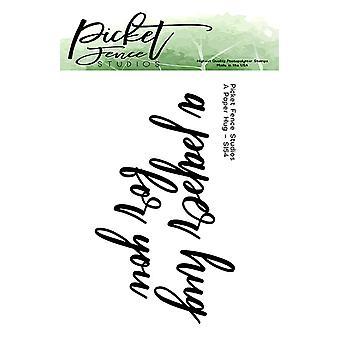 Picket Fence Studios Paperihali selkeät postimerkit