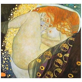 Print on canvas - Danae - Gustav Klimt - Painting on Canvas, Wall Decoration