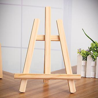 Chevalet en bois 21x28cm - Art Easel Craft Wooden Réglable Table Card Stand Display