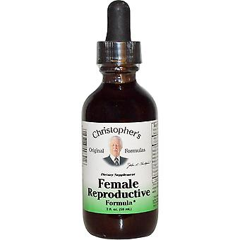 Christopher's Original Formulas, Female Reproductive Formula, 2 fl oz (59 ml)