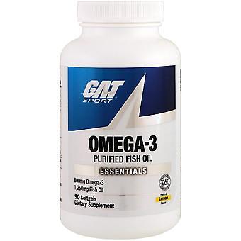 GAT, Omega-3, Citroen, 90 Softgels
