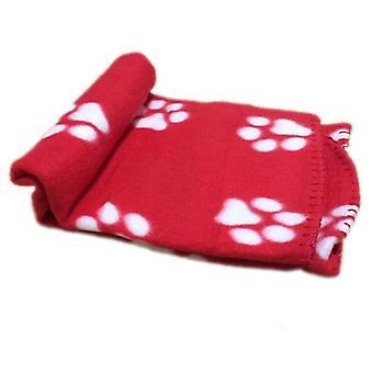 Pet Puppy Bed Blanket - Soft Winter Warm