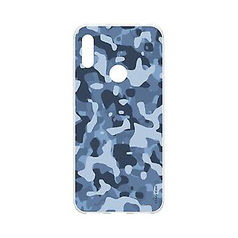 Hull For Huawei Y6s Soft Blue Military Camouflage