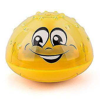 スプレー水玉導かれたライトFoat回転シャワー - 屋外プールパーティーゲームおもちゃ