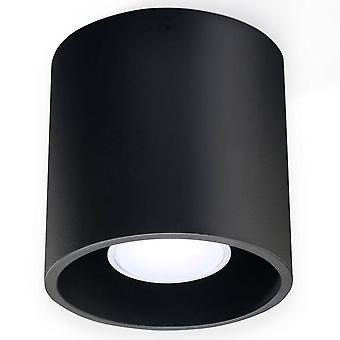 Sollux ORBIS - 1 Ljusyta Monterad Downlight Black, GU10