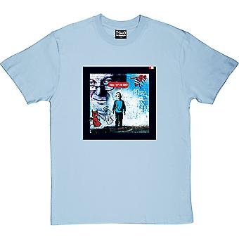 The City Is Red Light Blue Men's T-Shirt